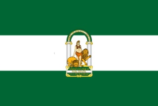Flagge Andalusien